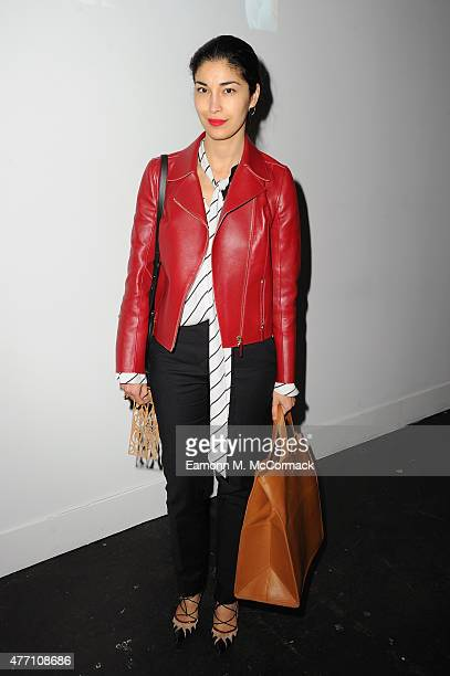 Caroline Issa attends the Christopher Raeburn show during The London Collections Men SS16 at on June 14 2015 in London England