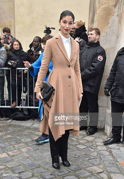 Caroline Issa attends the Dior show as part of Paris Fashion Week Haute Couture Spring/Summer 2015 on January 26 2015 in Paris France