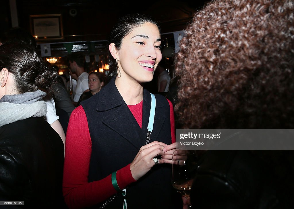 Caroline Issa attends the Dior Welcome Dinner at the Lady Dior Pub to celebrate the Cruise Collection 2017 on May 30, 2016 in London, England.