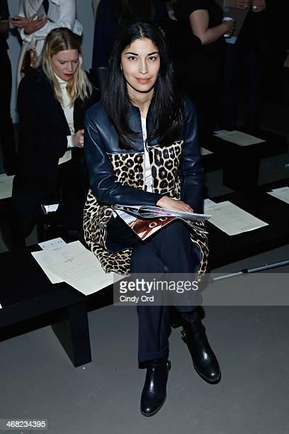 Caroline Issa attends the Giuletta fashion show during MercedesBenz Fashion Week Fall 2014 at Pier 59 on February 9 2014 in New York City