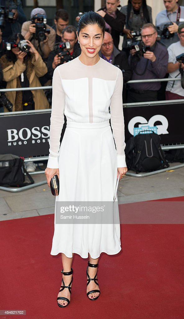 Caroline Issa attends the GQ Men of the Year awards at The Royal Opera House on September 2, 2014 in London, England.