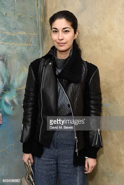 Caroline Issa attends the Isa Arfen presentation during London Fashion Week 2017 on February 21 2017 in London England