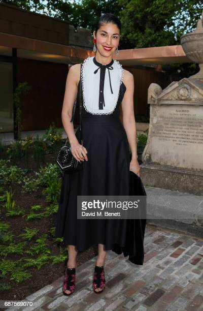 Caroline Issa attends the Jimmy Choo Mytheresacom dinner at The Garden Museum on May 23 2017 in London England