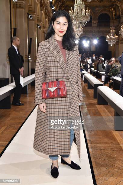 Caroline Issa attends the Lanvin show as part of the Paris Fashion Week Womenswear Fall/Winter 2017/2018 on March 1 2017 in Paris France
