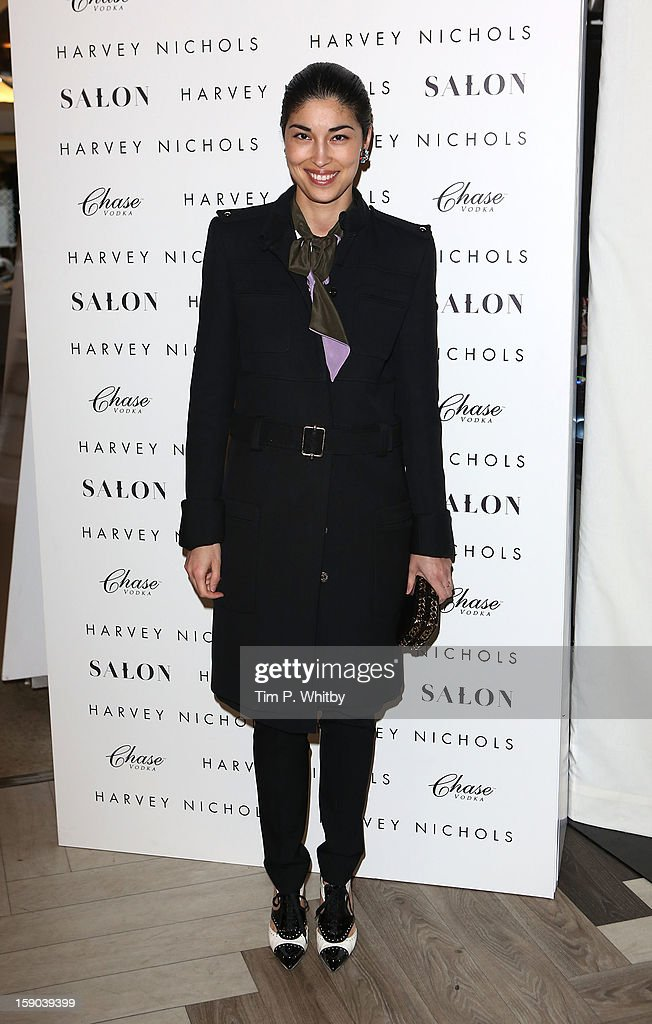 Caroline Issa attends the launch of 1205 Paula Gerbase Hosted By Harvey Nichols ahead of the London Collections: MEN AW13 at Harvey Nichols on January 6, 2013 in London, England.