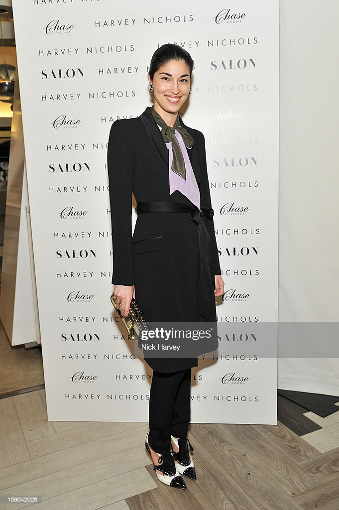Caroline Issa attends the launch of 1205 Paula Gerbase Hosted By Harvey Nichols ahead of the London Collections: MEN AW13 at on January 6, 2013 in London, England.