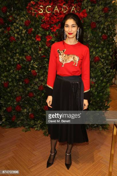 Caroline Issa attends the launch of the ESCADA Flagship store on Sloane Street on November 15 2017 in London England