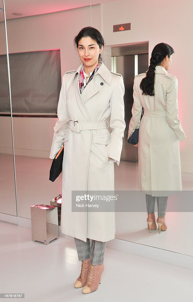 Caroline Issa attends the opening of the Conde Nast College of Fashion and Design on April 30, 2013 in London, England.