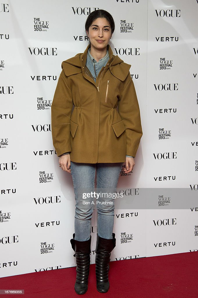 Caroline Issa attends the opening party for The Vogue Festival in association with Vertu at Southbank Centre on April 27, 2013 in London, England.