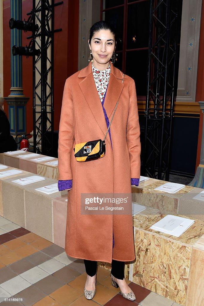 Sonia Rykiel : Front Row  - Paris Fashion Week Womenswear Fall/Winter 2016/2017