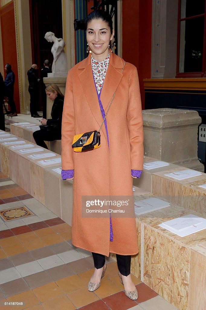 Sonia Rykiel : Front Row- Paris Fashion Week Womenswear Fall/Winter 2016/2017
