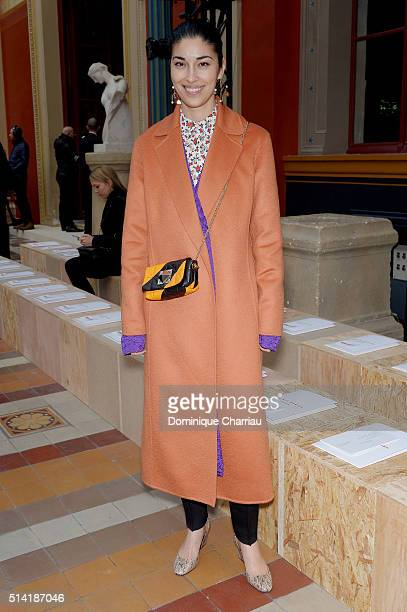 Caroline Issa attends the Sonia Rykiel show as part of the Paris Fashion Week Womenswear Fall/Winter 2016/2017 on March 7 2016 in Paris France