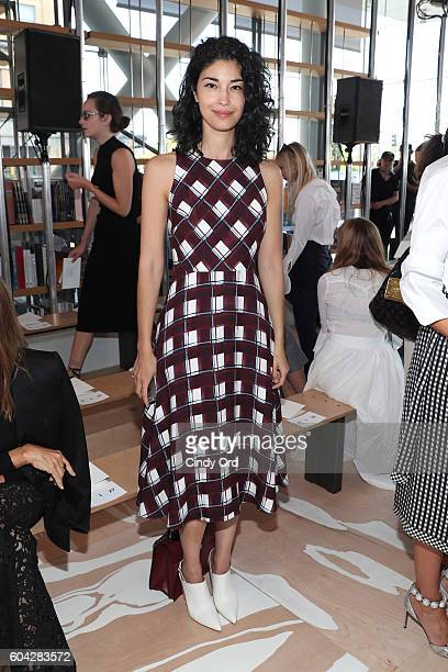Caroline Issa attends the Tory Burch fashion show during New York Fashion Week at The Whitney Museum of American Art on September 13 2016 in New York...
