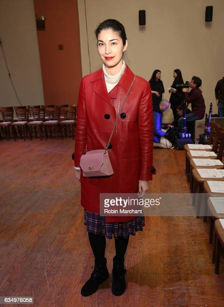 Caroline Issa attends Vaquera during New York Fashion Week on February 12 2017 in New York City
