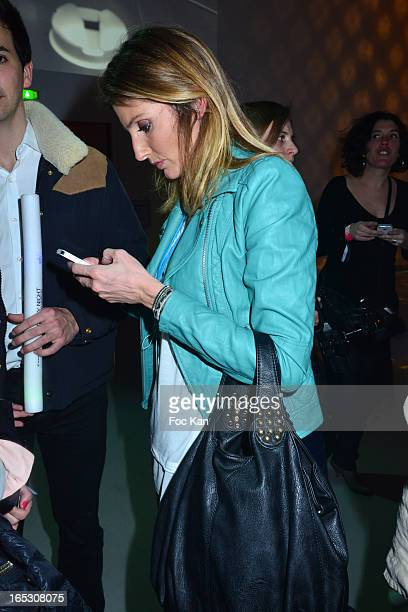 Caroline Ithurbide attends the 'Paris By Night' Bob Sinclar CD Launch Concert Party At La Gaite Lyrique on April 2 2013 in Paris France