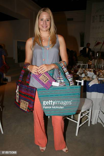 Caroline Johnston Polisi attends LORD TAYLOR Mother/Daughter Tea for FEED with LAUREN BUSH and ELLEN GUSTAFSON at Lord Taylor on May 7 2010 in New...
