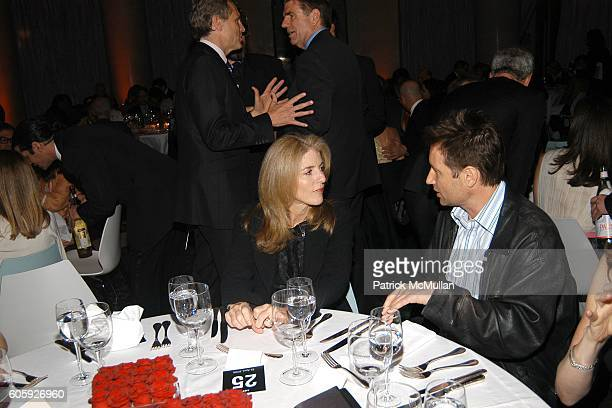 Caroline Kennedy and David Duchovny attend VANITY FAIR Tribeca Film Festival Party hosted by Graydon Carter and Robert DeNiro at The State Supreme...