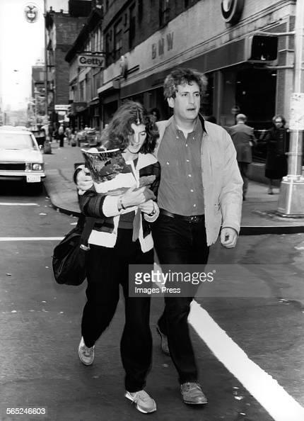 Caroline Kennedy and Edwin Schlossberg circa 1980s in New York City