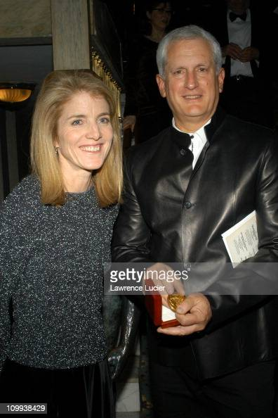 Caroline Kennedy and Edwin Schlossberg with his National Arts Club Medal of Honor