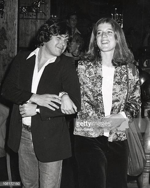 Caroline Kennedy and Jann Wenner during 'Bobby Deerfield' New York City Premiere After Party at Tavern on the Green in New York City New York United...