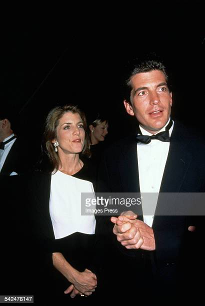 Caroline Kennedy and John F Kennedy Jr circa 1996 in New York City