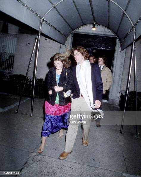 Caroline Kennedy and John F Kennedy Jr during 21st 18th Birthday Party for Caroline Kennedy and John F Kennedy Jr at Le Club in New York City New...