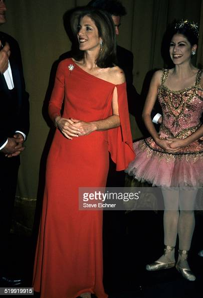 Caroline Kennedy at event New York 1990s