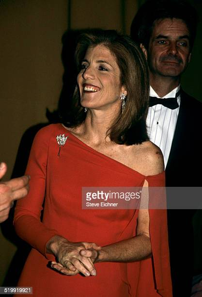 Caroline Kennedy at event New York 1990s