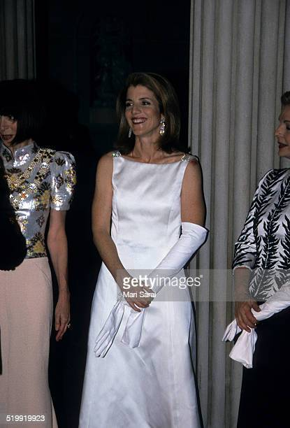 Caroline Kennedy at the Metropolitan Museum's Costume Institute gala exhibition New York New York April 23 2001