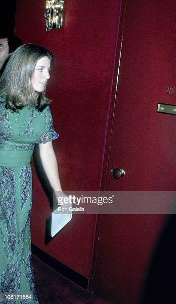 Caroline Kennedy during 40th Anniversary of the American Ballet at Lincoln Center in New York City New York United States