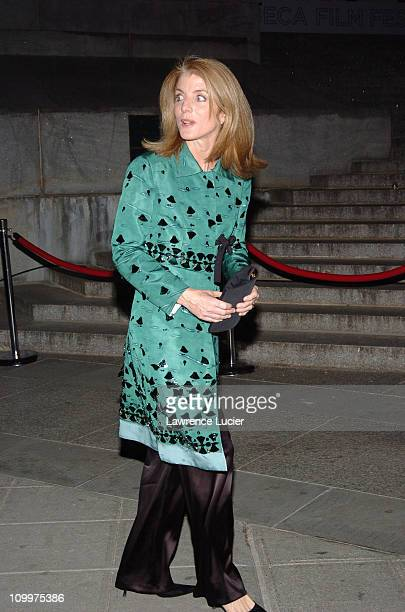 Caroline Kennedy during 4th Annual Tribeca Film Festival Vanity Fair Party at New York Supreme Court in New York City New York United States
