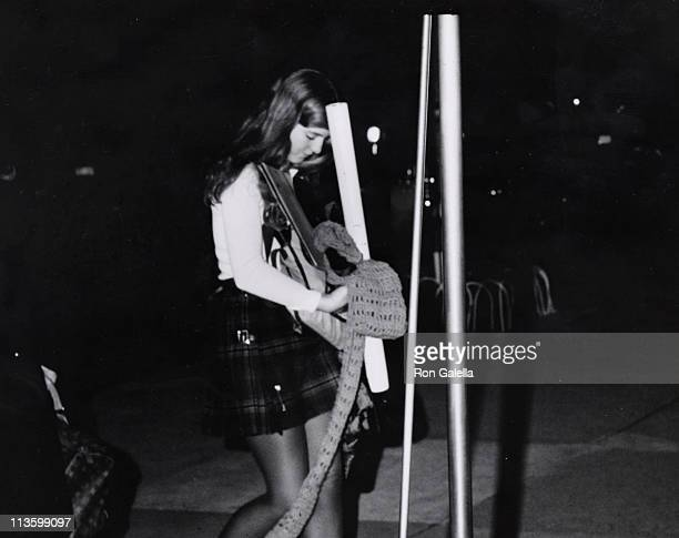 Caroline Kennedy during Caroline Kennedy Arriving At Her Apartment at 5th Avenue in New York City New York United States