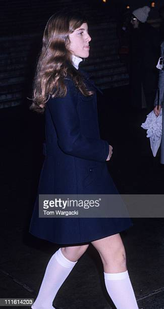 Caroline Kennedy during Caroline Kennedy at the Philharmonic Hall at Philharmonic Hall in New York United States