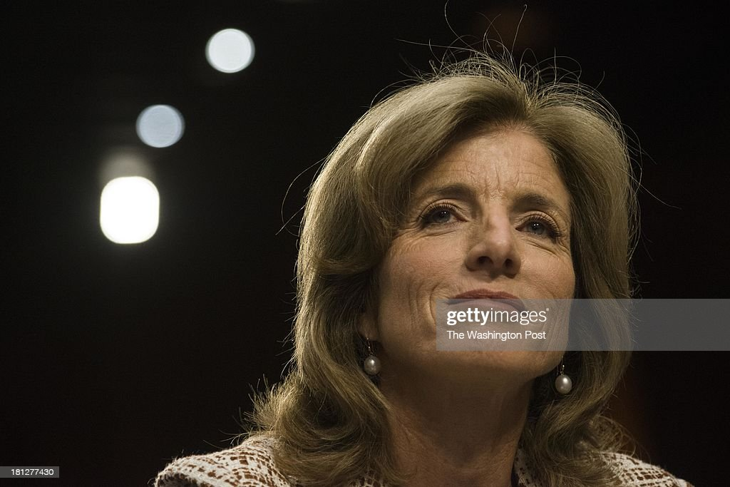 Caroline Kennedy during the Senate Foreign Relations Committee hearing to decide her nomination for ambassador to Japan, on Capitol Hill Thursday September 19, 2013.