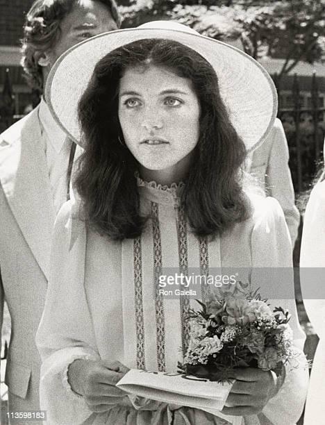 Caroline Kennedy during Wedding of Courtney Kennedy and Jeff Ruhe at Holy Trinity Church in Georgetown Washington DC United States