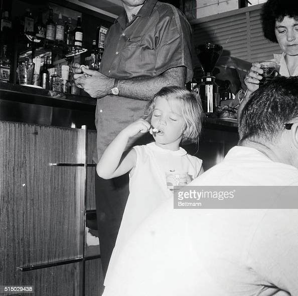 Young Caroline Kennedy Eating Ice Cream Pictures Getty