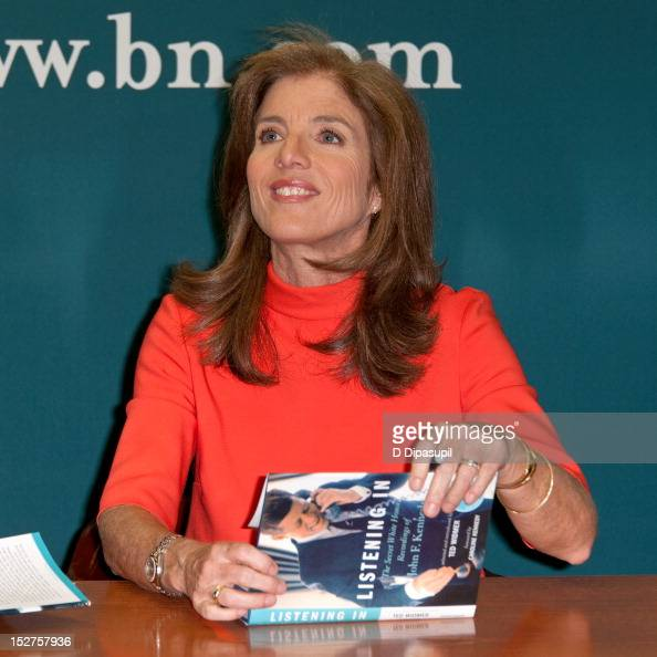 Caroline Kennedy promotes her book 'Listening In The Secret White House Recordings of John F Kennedy' at Barnes Noble 5th Avenue on September 25 2012...