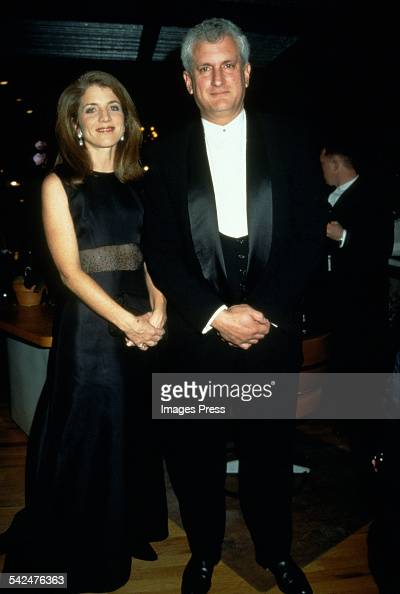 Caroline Kennedy Schlossberg and Edwin Schlossberg circa 1997 in New York City