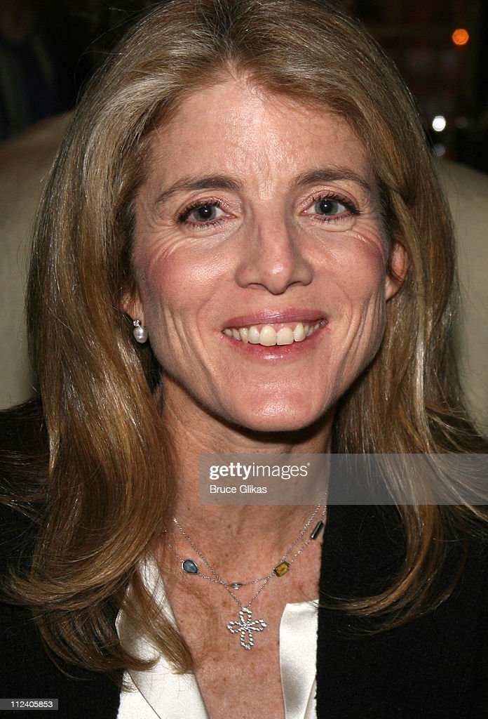 <a gi-track='captionPersonalityLinkClicked' href=/galleries/search?phrase=Caroline+Kennedy&family=editorial&specificpeople=93208 ng-click='$event.stopPropagation()'>Caroline Kennedy</a> Schlossberg during 'Rent' Celebrates 10th Anniversary on Broadway - April 24, 2006 at The Nederlander Theater in New York, New York, United States.