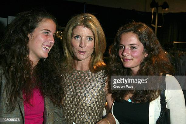 Caroline Kennedy Schlossberg with her daughters