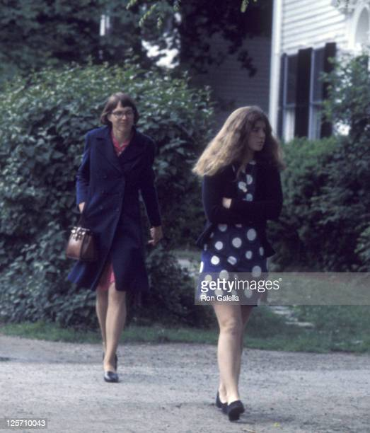 Caroline Kennedy Sighted on June 4 1975 at Concord Academy in Concord Massachussetts