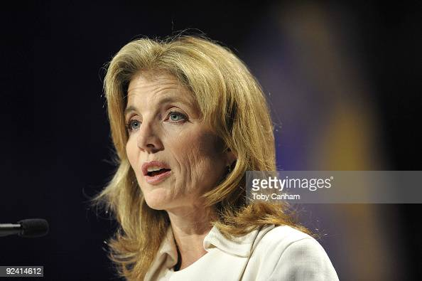 Caroline Kennedy speaks at the 2009 Women's Conference held at Long Beach Convention Center on October 27 2009 in Long Beach California