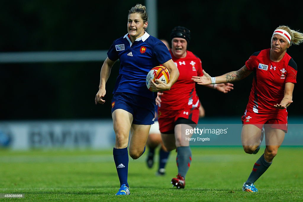 France v Wales - IRB Women's Rugby World Cup 2014