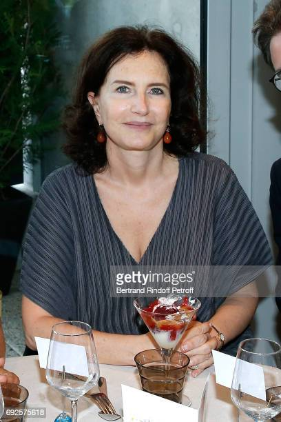 Caroline Lang attends the 'France Television' Lunch during the 2017 French Tennis Open Day Height at Roland Garros on June 4 2017 in Paris France