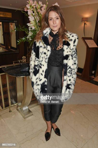 Caroline Lever attends a private dinner following the Warrior Games Exhibition VIP Preview hosted by HRH Princess Eugenie Waris Ahluwalia and Sylvie...