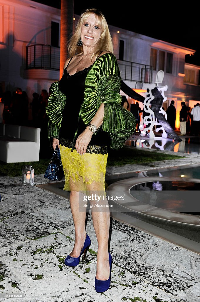 Caroline Liberman attends Niche Media Party Hosted By Zoe Saldana on December 6, 2013 in Miami Beach, Florida.