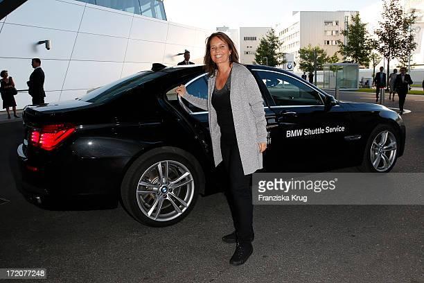 Caroline Link attends the Munich Film Festival 2013 Cine Merit Award 2013 at BMW World on July 01 2013 in Munich Germany