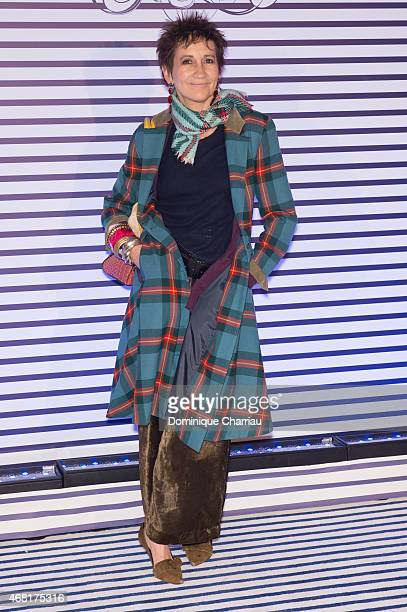 Caroline Loeb attends the Jean Paul Gaultier Exhibition' Photocall at Grand Palais on March 30 2015 in Paris France