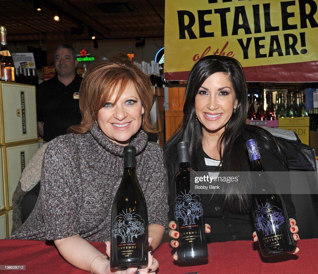 """NJ Housewives"" Caroline Manzo & Jacqueline Laurita Wine Tasting"