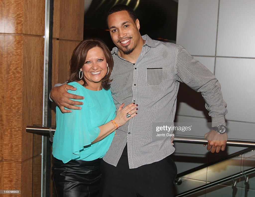<a gi-track='captionPersonalityLinkClicked' href=/galleries/search?phrase=Caroline+Manzo&family=editorial&specificpeople=5841102 ng-click='$event.stopPropagation()'>Caroline Manzo</a> and Travis Beckum attend the 'Real Housewives of New Jersey' Season 4 viewing party at The Chandelier Room on April 22, 2012 in Hoboken, New Jersey.